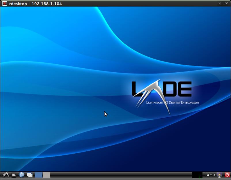 Screenshot-rdesktop - 192.168.1.104
