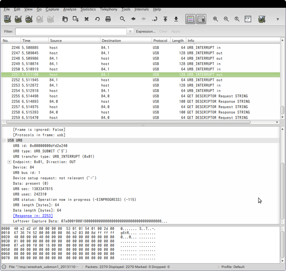 Screenshot-USB bus number 1   [Wireshark 1.6.7 ]-1