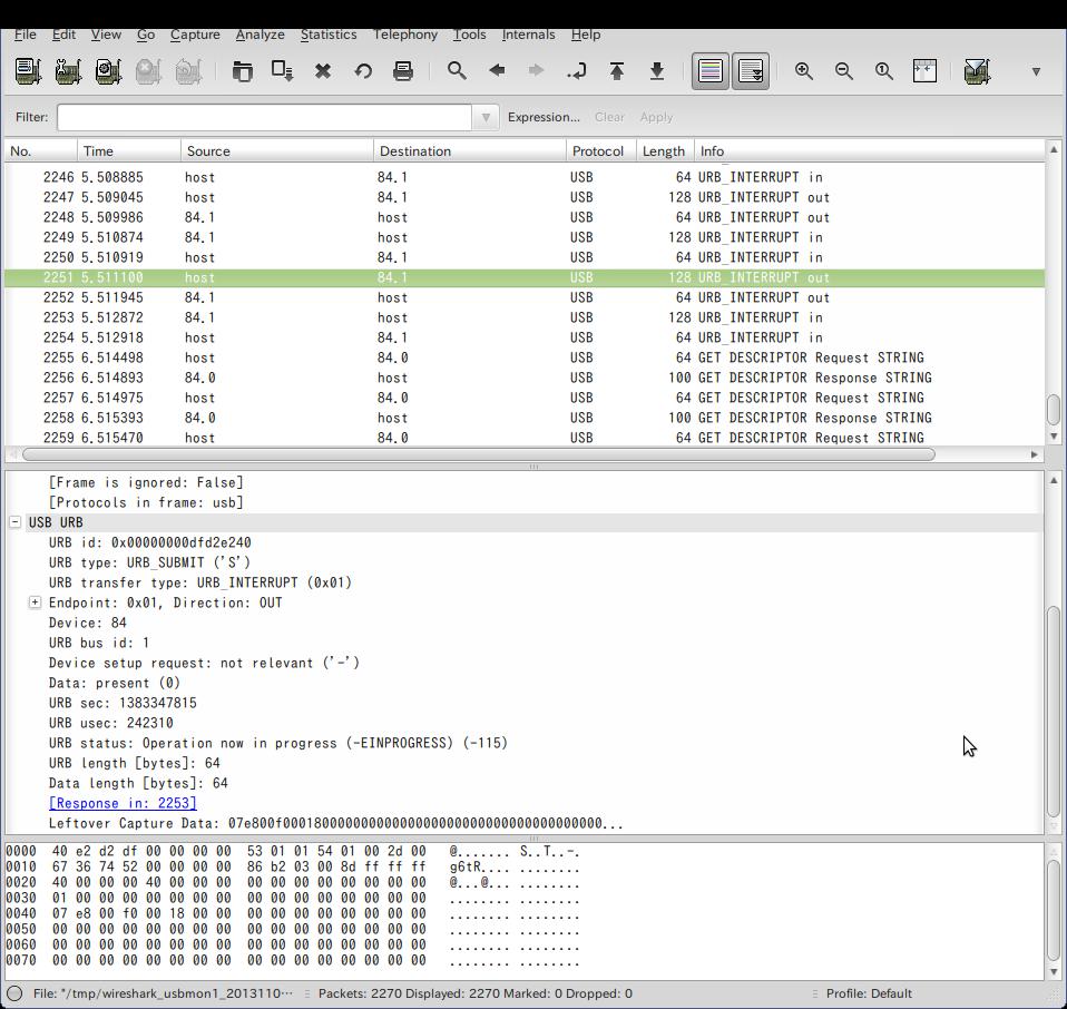 Screenshot-USB bus number 1   [Wireshark 1.6.7 ]-1